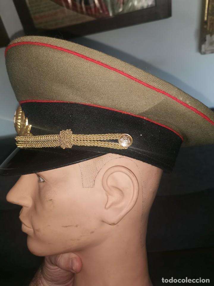 Militaria: Gorra de plato.oficial de la policía militar. URSS. 1989 - Foto 3 - 251612770