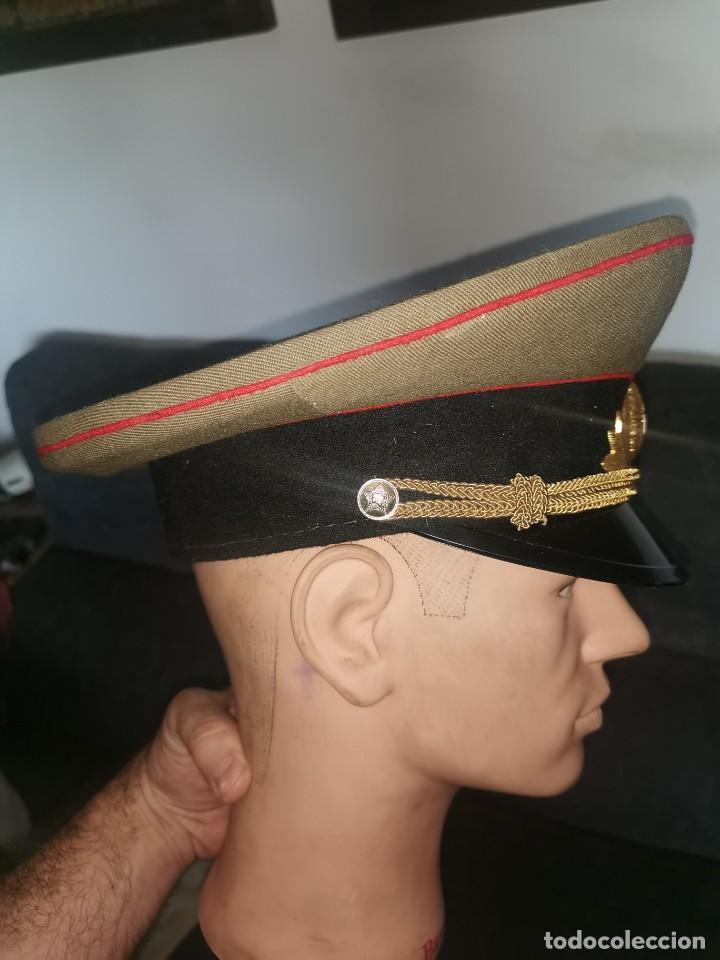 Militaria: Gorra de plato.oficial de la policía militar. URSS. 1989 - Foto 6 - 251612770