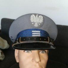 Militaria: GORRA OFICIAL DE POLICÍA. POLONIA. AÑOS 60-70. Lote 252310150