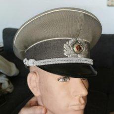 Militaria: GORRA PLATO MILITAR. RDA. ALEMANIA ORIENTAL. AÑOS 70-80. Lote 252313575