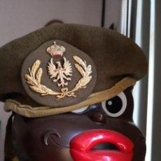 Militaria: BOINA GORRA DEL EJÉRCITO ESPAÑOL. TALLA 56 USADA. Lote 253540640