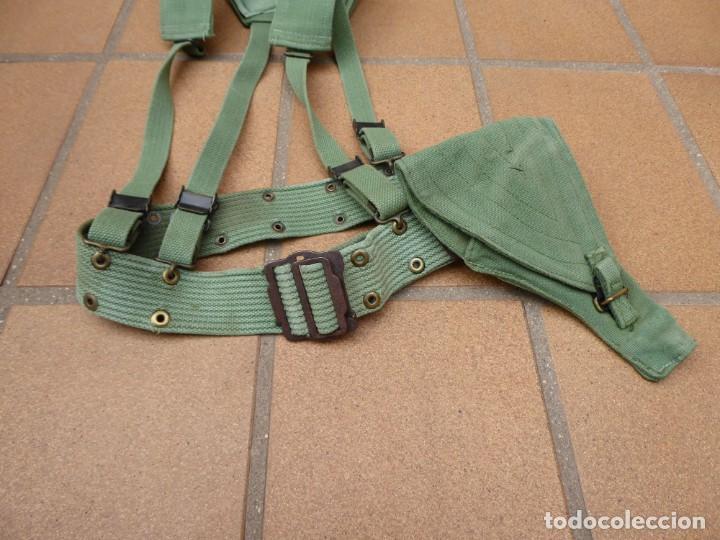 CORREAJE SARGA LEGIONARIO. LEGIÓN ESPAÑOLA (Militar - Cinturones y Hebillas )
