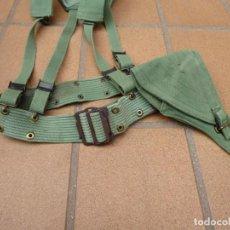 Militaria: CORREAJE SARGA LEGIONARIO. LEGIÓN ESPAÑOLA. Lote 253552250