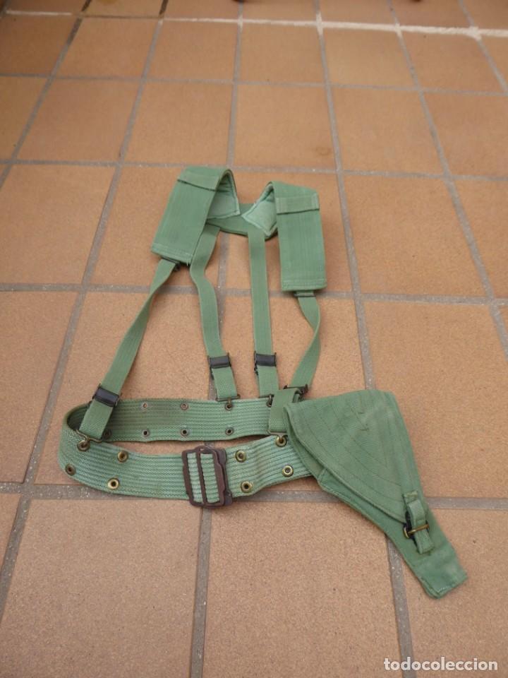 Militaria: Correaje sarga legionario. Legión Española - Foto 2 - 253552250