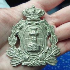 Militaria: CHAPA ROS INGENIEROS ÉPOCA ALFONSO XIII. Lote 253985315