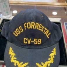 Militaria: MAGNIFICA GORRA MILITAR AMERICANA, ORIGINAL, AÑOS 70. Lote 254505460