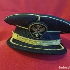 Militaria: GORRA DE PLATO DE GALA .EPOCA FRANCO.. Lote 254618430
