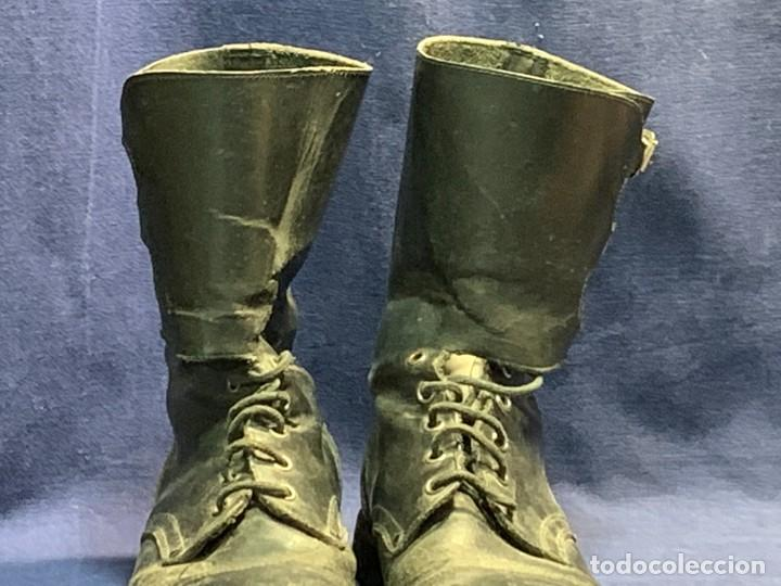 Militaria: BOTAS MILITAR ESPAÑA GENERAL BRIAC XII CARRO COMBATE TANQUE - Foto 3 - 255552130