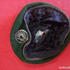 Militaria: AUTÉNTICA BOINA PARACAIDISTA DE LA LEGIÓN EXTRANJERA. Lote 255951305