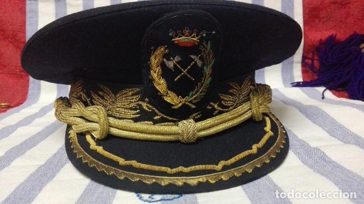 GORRA DE PLATO MILITAR DE INGENIERO DE MONTES (Militar - Otros relacionados con uniformes )