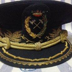Militaria: GORRA DE PLATO MILITAR DE INGENIERO DE MONTES. Lote 256087470