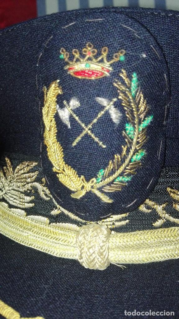 Militaria: GORRA DE PLATO MILITAR DE INGENIERO DE MONTES - Foto 7 - 256087470