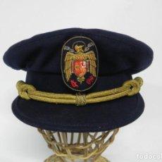 Militaria: ANTIGUA GORRA DE PLATO DE JERARCA DE FALANGE EN BUEN ESTADO DE CONSERVACION, TAL COMO SE VE EN LAS F. Lote 257333450