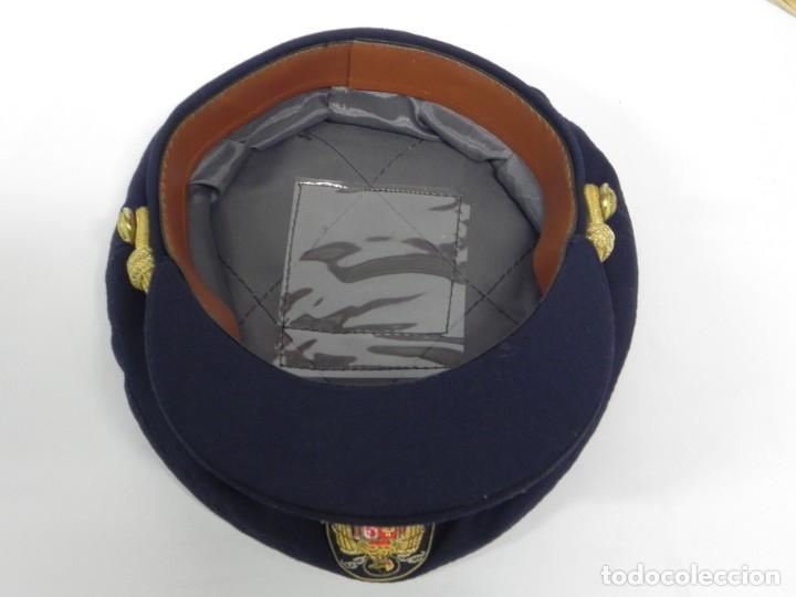 Militaria: ANTIGUA GORRA DE PLATO DE JERARCA DE FALANGE EN BUEN ESTADO DE CONSERVACION, TAL COMO SE VE EN LAS F - Foto 9 - 257333450