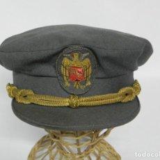 Militaria: ANTIGUA GORRA DE PLATO DE JERARCA DE FALANGE EN BUEN ESTADO DE CONSERVACION, CASA YUSTAS, TAL COMO S. Lote 257333590