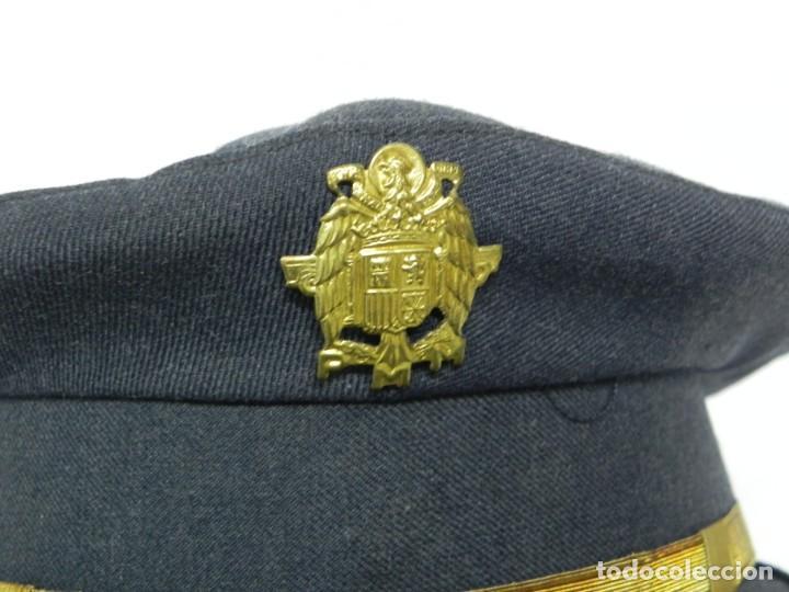 Militaria: ANTIGUA GORRA DE CONSERJE, CONDUCTOR, BEDEL DE MINISTERIO, AÑOS 40/50, PRIMERA EPOCA DE FRANCO, REAL - Foto 2 - 257334385