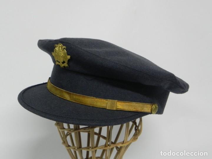 Militaria: ANTIGUA GORRA DE CONSERJE, CONDUCTOR, BEDEL DE MINISTERIO, AÑOS 40/50, PRIMERA EPOCA DE FRANCO, REAL - Foto 8 - 257334385