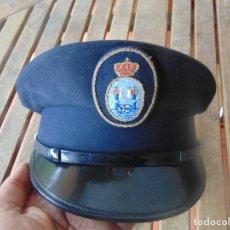 Militaria: GORRA DE PLATO A IDENTIFICAR. Lote 259025075