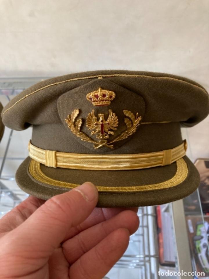 BONITA GORRA DE CORONEL DEL EJÉRCITO DE TIERRA (Militar - Boinas y Gorras )