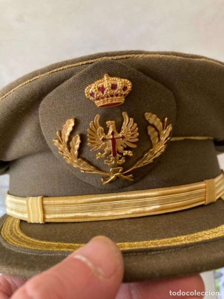 Militaria: Bonita gorra de coronel del ejército de tierra - Foto 2 - 259334700