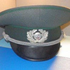 Militaria: GORRA MILITAR - ALEMANIA ORIENTAL - DDR - OESTE - AÑOS 80´S - NUEVA - OFICIAL. Lote 260413090