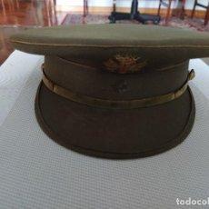 Militaria: GORRA PLATO EJERCITO DE TIERRA 56 CMS ESPAÑA AÑOS 1975. Lote 260482780