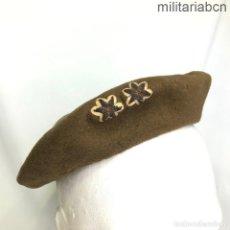 Militaria: BOINA DE TENIENTE DEL EJÉRCITO NACIONAL. GUERRA CIVIL ESPAÑOLA. ESTRELLAS BORDADAS DIRECTAMENTE. Lote 260703865