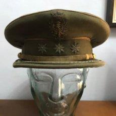 Militaria: ANTIGUA GORRA DE PLATO DE CORONEL. EPOCA DE FRANCO.. Lote 260727145