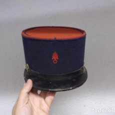 Militaria: ANTIGUO KEPI FRANCES DE LA LEGION EXTRANJERA FRANCESA, ORIGINAL, MODELO BOMBETA ROJA, FRANCIA.. Lote 261300885