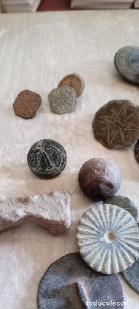 Militaria: Botones antiguos, monedas , balas etc . - Foto 5 - 261932845