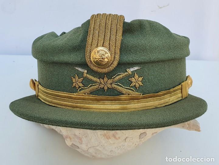 GORRA TERESIANA DE LA LEGION - CAPITAN - DE ESTABL. FLANDEZ (Militar - Boinas y Gorras )