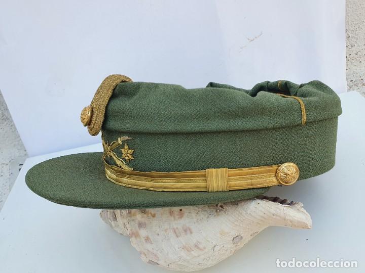 Militaria: GORRA TERESIANA DE LA LEGION - CAPITAN - DE ESTABL. FLANDEZ - Foto 4 - 262062275