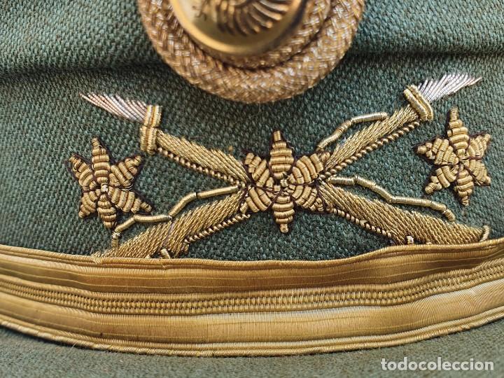 Militaria: GORRA TERESIANA DE LA LEGION - CAPITAN - DE ESTABL. FLANDEZ - Foto 9 - 262062275