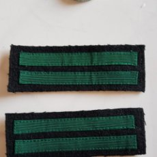 Militaria: RÉPLICA INSIGNIAS PRENDA CAMUFLAJE SS-SCHARFÜHRER, WAFFEN SS, RECREACION HISTORICA SGM. Lote 262375145