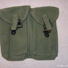 Militaria: CARTUCHERA DOBLE ANTIGUA DE LA LEGIÓN PARA CARGADORES DE CETME.. Lote 262887435