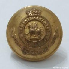 Militaria: ANTIGUO BOTÓN DE UNIFORME DE LA ARMADA INGLESA, THE BUFFS, REGIMIENTO EAST KENT, INFANTERÍA. Lote 263096615