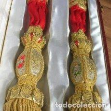 Militaria: FAJIN DE GENERAL BORDADOS DIV. ACORAZADA BRUNETE, REG. ALCAZAR DE TOLEDO, ESTADO MAYOR. INFANTERIA. Lote 263242630