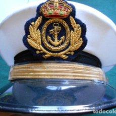 Militaria: GORRA OFICIAL DE LA ARMADA ESPAÑOLA NUEVA. Lote 263679015