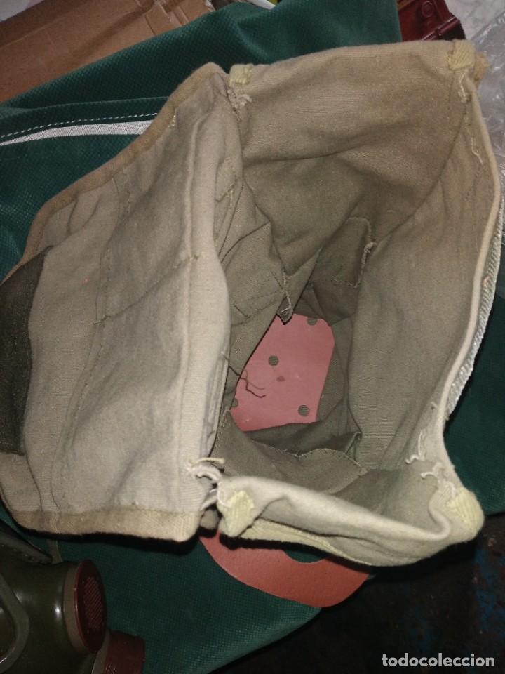 Militaria: mascara militar con su bolsa de tela fueerte - Foto 7 - 265378799
