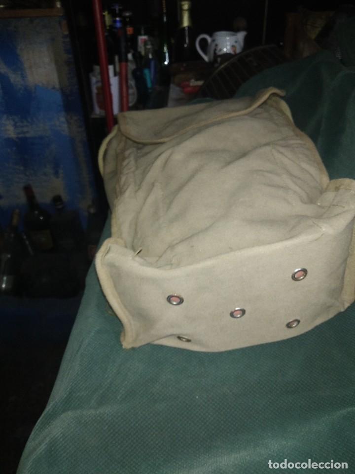 Militaria: mascara militar con su bolsa de tela fueerte - Foto 8 - 265378799