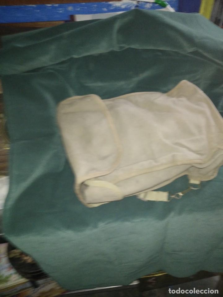 Militaria: mascara militar con su bolsa de tela fueerte - Foto 9 - 265378799