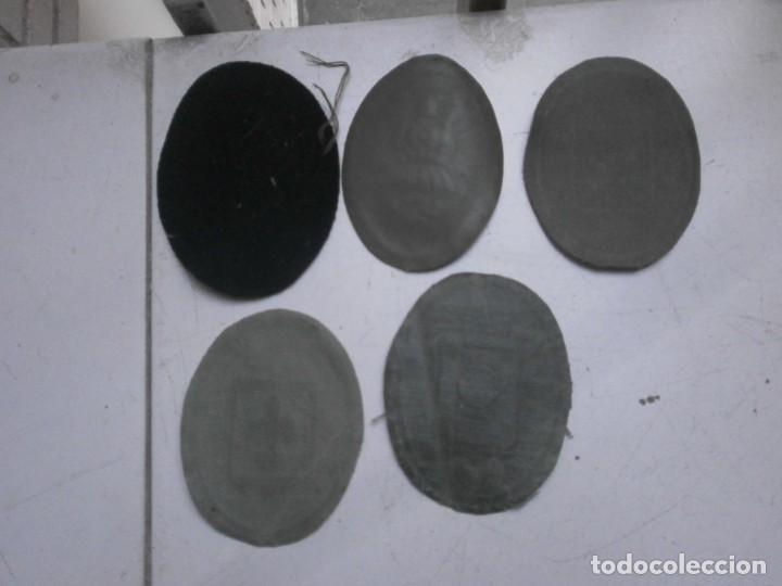 Militaria: Lote 5 parches lona y tela ejercito español usados - paracaidas variados - Foto 8 - 265895918