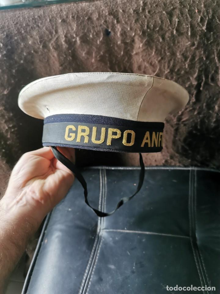 Militaria: Gorro lepanto. Grupo anfibio. Armada. Años 50 - Foto 11 - 252863395