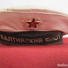 Militaria: GORRA ANTIGUA MILITAR TIPO LEPANTO BESKOZYRKA ARMADA MARINA DE GUERRA UNIÓN SOVIÉTICA URSS RUSIA. Lote 267163334