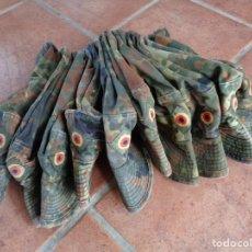 Militaria: 10 GORRAS SOLDADOS ALEMANES EJERCITO - BUNDESWEHR - TALLA 57. Lote 267410234