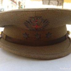 Militaria: GORRA DEL EJÉRCITO ESPAÑOL DE CAPITÁN DEL EJÉRCITO DE TIERRA ÉPOCA FRANCO MODELO 93. Lote 267906869