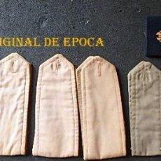 Militaria: (JX-210625)LOTE DE DIEZ HOMBRERAS MILITARES DE TELA, UNA DE ELLAS CON SILICONA EN LA PARTE POSTERIOR. Lote 268264184
