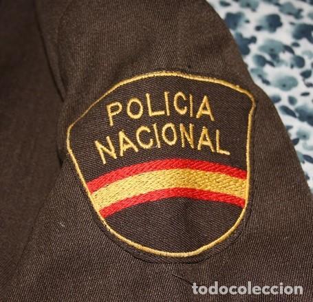 Militaria: 39,, GUERRERA DE LA POLICIA NACIONAL NUEVA SIN USAR. SASTRE INDUYCO, FABRICANTE, Nº. A28/057388. - Foto 3 - 268858699