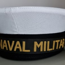 Militaria: LEPANTO O GORRO DE MARINERO DE LA ESCUELA NAVAL MILITAR. TALLA 58. Lote 269166953