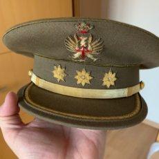 Militaria: GORRA DE PLATO. CORONEL. EJÉRCITO DE TIERRA. AÑOS 60/70. SASTRERÍA TOLEDO ( ZARAGOZA ).. Lote 269280983